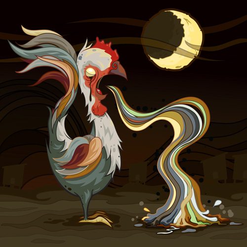 The Moon Rooster, bawwk