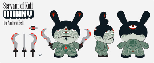 Servant of Kali – Dunny 2009