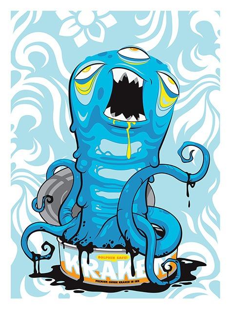 Dolphin Safe Kraken