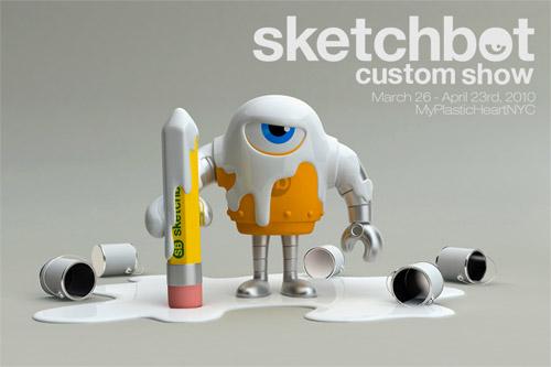 sketchbot custom show