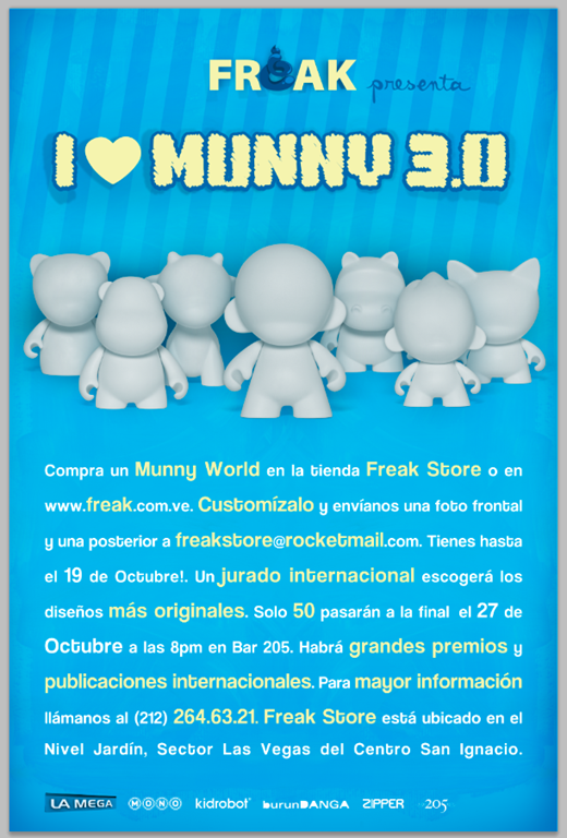 I Love Munny 3.0 @ Freakstore