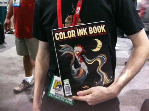 color ink book