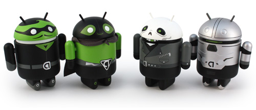 Android Mini Collectible Summer special editions